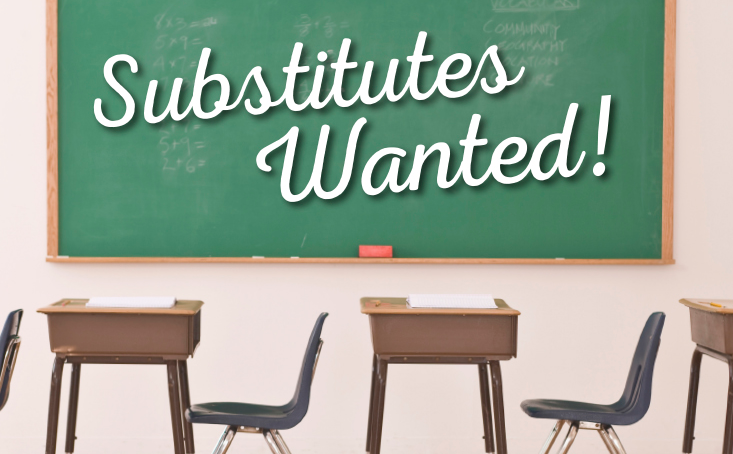 GS is in Need of Substitute Teachers